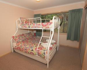 A bunk bed or bunk beds in a room at Serene Vista Halls Gap