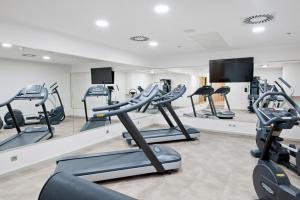Centrum fitness w obiekcie Hotel Royal Prague