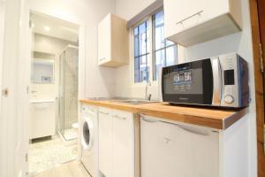 Una cocina o zona de cocina en Apartamento Cabestreros