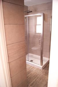 A bathroom at Ocean Beach Hotel & Spa - OCEANA COLLECTION