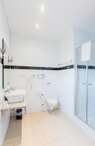 A bathroom at Business Pension Gasper