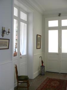 A seating area at La Maison de Saumur