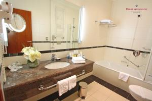 Ванная комната в Hotel Antunovic Zagreb