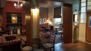 The lounge or bar area at Station Hotel