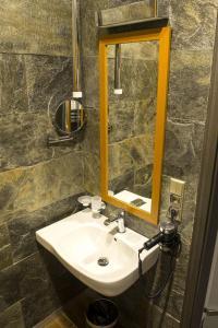 Łazienka w obiekcie Hotel Europa