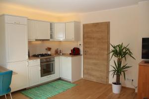 A kitchen or kitchenette at Apartment Kleßheim