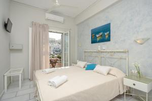 Ένα ή περισσότερα κρεβάτια σε δωμάτιο στο Pension Sofi