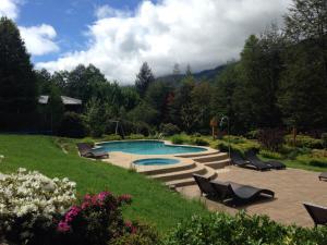Piscina en o cerca de Peumayen Lodge & Termas