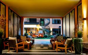 Restauracja lub miejsce do jedzenia w obiekcie Hotel F6