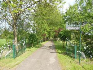 Een tuin van B&B Landgoed Sonneborghe