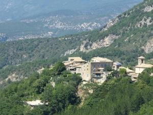 A bird's-eye view of Spacious Holiday Home with Swimming Pool in Montaulieu