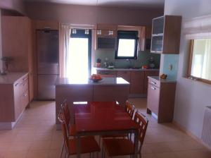 A kitchen or kitchenette at Chrysis Apartments
