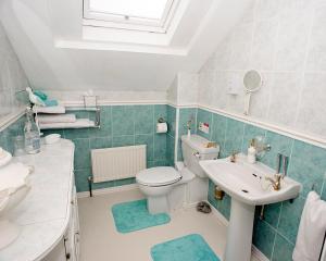A bathroom at Craig Park House