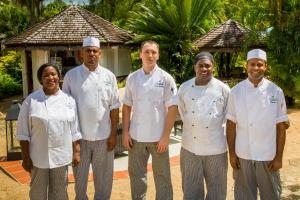 Staff members at East Winds St. Lucia- All Inclusive