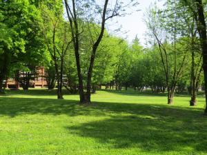 A garden outside B&B Milano3