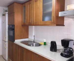 Una cocina o zona de cocina en Casa Naty