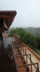 Uma varanda ou terraço em Beit Alward