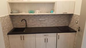 Kuchyň nebo kuchyňský kout v ubytování Villa Kiwi