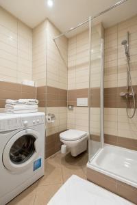 Ванная комната в Aparthotel Angel