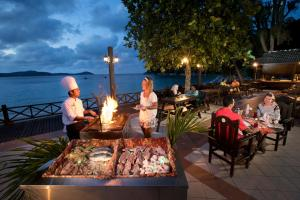 A restaurant or other place to eat at Perhentian Island Resort