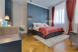 A bed or beds in a room at Zadera Accommodation