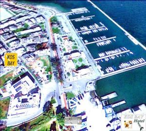 Άποψη από ψηλά του Kos Bay Hotel