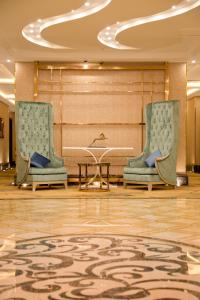 منطقة جلوس في فندق هوليداي الخليج
