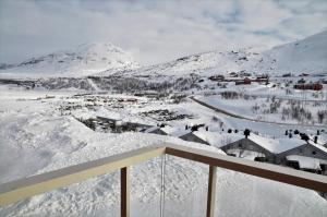 RIBO Apartment Riksgränsen during the winter