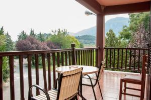 A balcony or terrace at Pineas