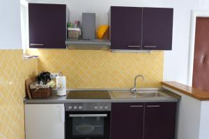 A kitchen or kitchenette at Guest House Međine