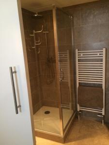 Ein Badezimmer in der Unterkunft appartement seafront