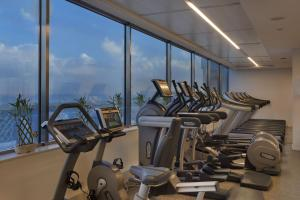 The fitness center and/or fitness facilities at The Vista At Hilton Tel Aviv
