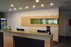 The lobby or reception area at Home2 Suites by Hilton Portland