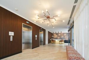 The lobby or reception area at Nautica Residences Fremantle