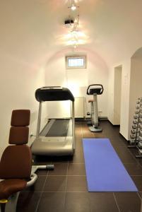 Het fitnesscentrum en/of fitnessfaciliteiten van Hotel Cristall - Frankfurt City