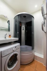 Ванная комната в Apartments at Michurina 15