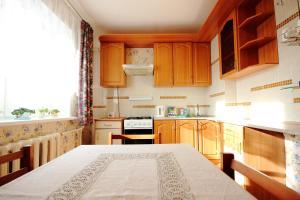 Кухня или мини-кухня в Apartment on Lenina 48