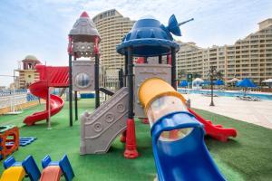 منطقة لعب الأطفال في فندق  بورتو سخنة