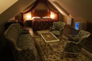 Posezení v ubytování Hotel Princess