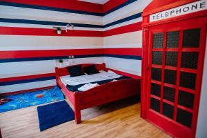 Cama o camas de una habitación en Alfred Street Apartment