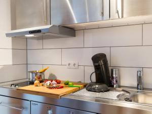 Küche/Küchenzeile in der Unterkunft Ruster Drachennest