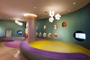 Lobby/Rezeption in der Unterkunft Hilton Tokyo Bay