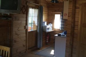 Küche/Küchenzeile in der Unterkunft Pension an der Stadtmauer