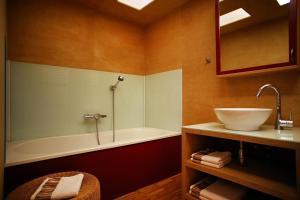 Ein Badezimmer in der Unterkunft Ferienwohnung Pichler