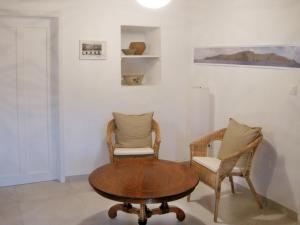 Uma área de estar em Casa Marquesa