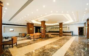 The lobby or reception area at Old Vic Sharm Resort Families and Couples Only