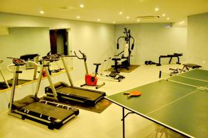 Palestra o centro fitness di Leivatho Hotel