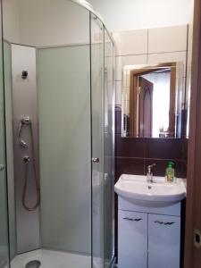 A bathroom at Apartment kak doma