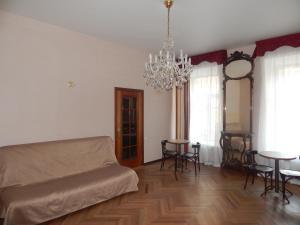 Гостиная зона в Apartment Nika Nevsky 88