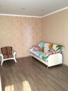 Гостиная зона в Apartment on Lenina